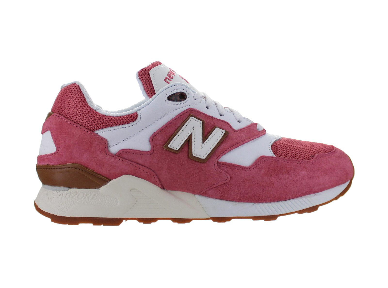 Mens New Balance 878 Mineral Pink White ML878RMC by New Balance Athletic Shoe, Inc.