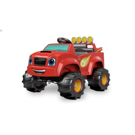 Power Wheels Nickelodeon Blaze Monster Truck Battery-Powered
