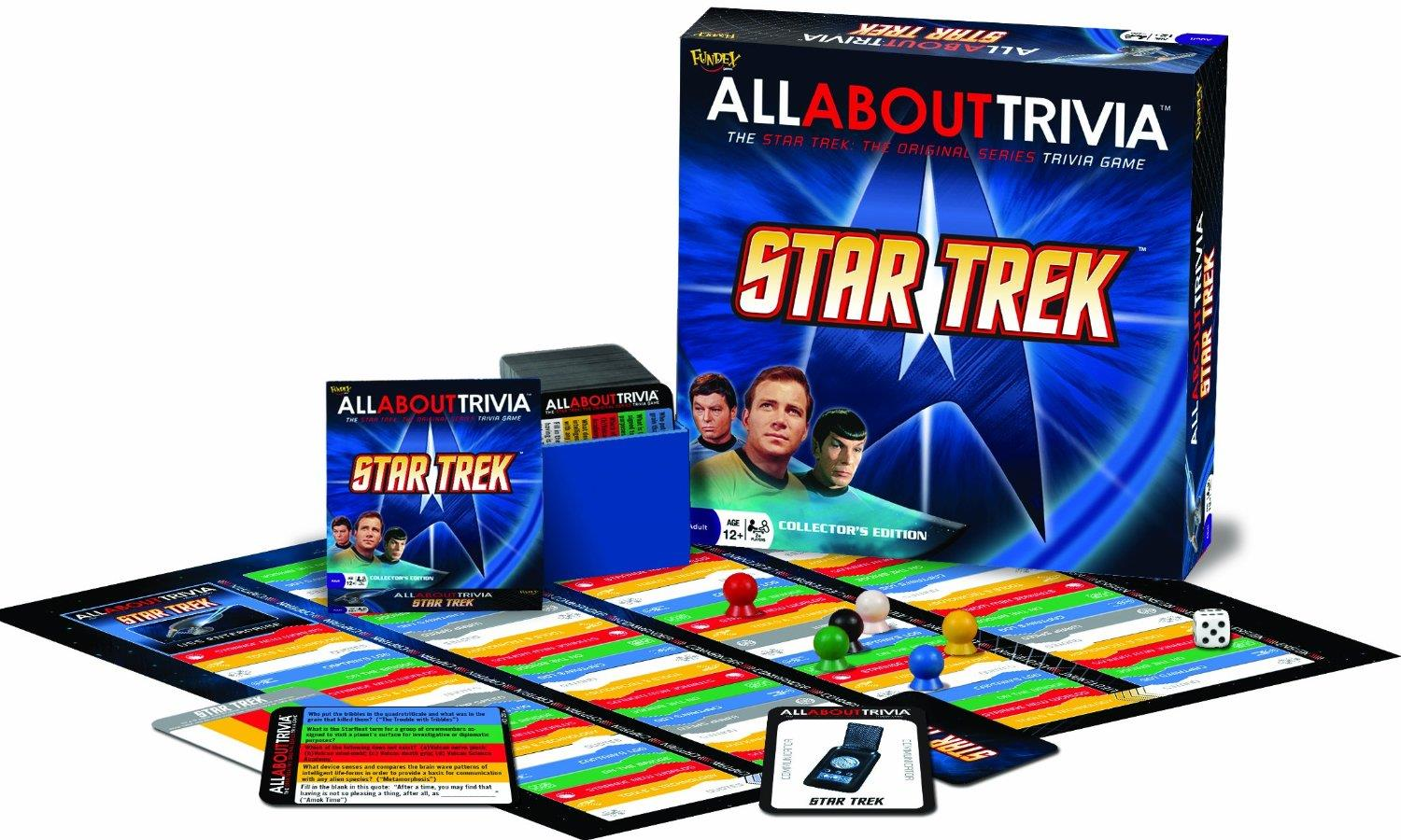All About Trivia Star Trek Great Condition by Fundex Games