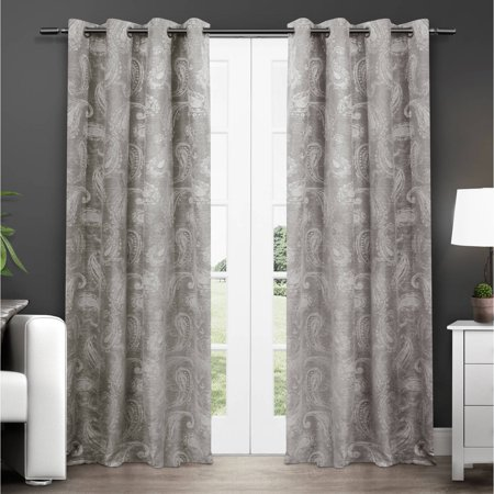 Exclusive home bangalore paisley thermal window curtain for Thermal windows reviews