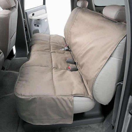 Custom Rear Seat Protector: 2010-13 Fits HYUNDAI TUCSON (Polycotton, Wet Sand) (DCC4529SA) Hyundai Tucson Set