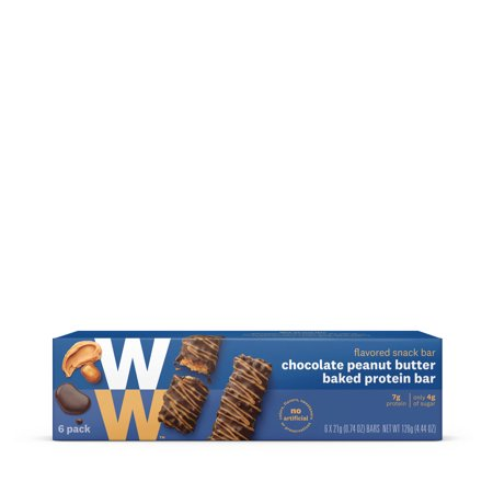 Weight Watchers Chocolate Peanut Butter Baked Protein