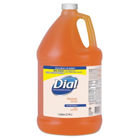 Liquid Gold Antimicrobial Soap (Dial Gold Antimicrobial Liquid Hand Soap, Floral, 1 Gallon)