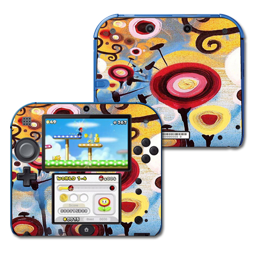 Mightyskins Protective Vinyl Skin Decal Cover for Nintendo 2DS wrap sticker skins Nature Dream