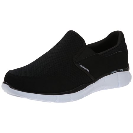 1b76db76a332 Skechers - 51361 Black Skechers Shoe Men New Memory Foam Comfort Slipon  Dress Casual Loafer - Walmart.com