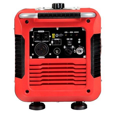 3000W Portable Inverter Gasoline Generator Ultra Quiet 4 Stroke Single Cylinder - image 4 of 10