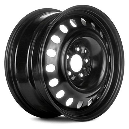 PartSynergy Steel Wheel Rim 17 Inch OEM Take-Off Fits 2001-2002 Dodge Caravan 5-114.3 mm 18