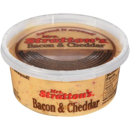 Mrs. Stratton's Bacon & Cheddar Spread, 12 oz