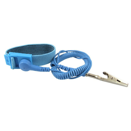 Unique Bargains Anti-static ESD Wrist Strap Discharge Band Grounding Prevent Static Shock