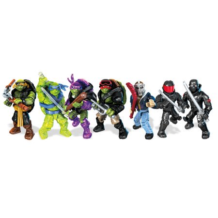Mega Bloks Teenange Mutant Ninja Turtles Movie Character Pack