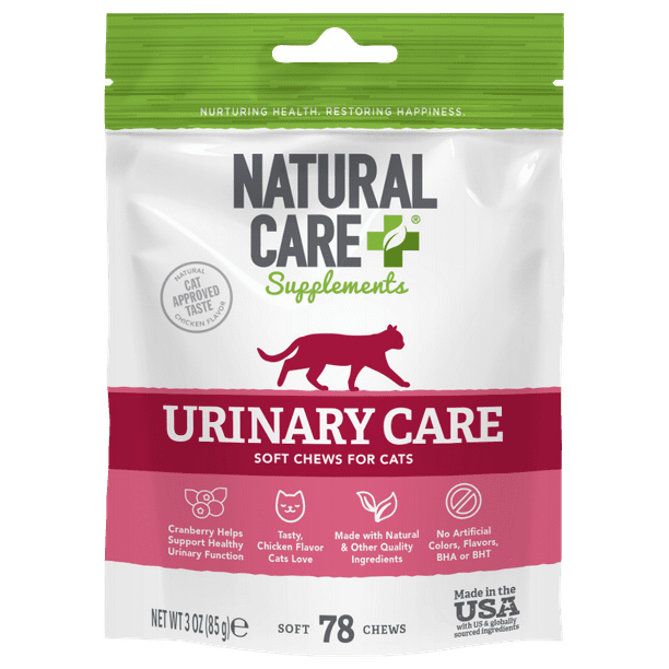 Natural Care+® Urinary Care Soft Chews for Cats