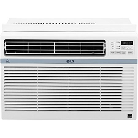 LG Energy Star 10,000 BTU 115V Window-Mounted Air Conditioner with Wi-Fi Control