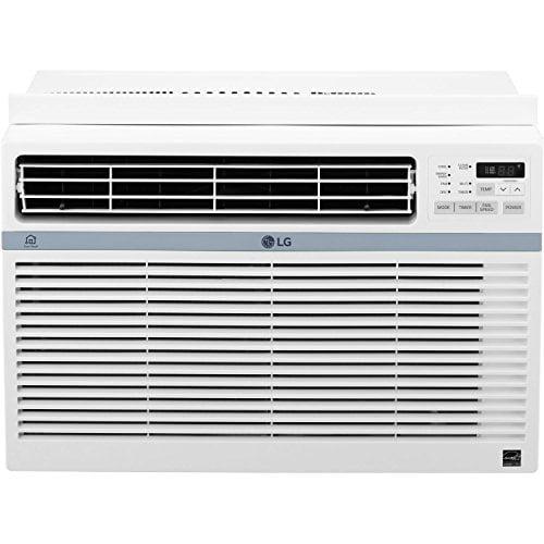 LG Energy Star 10,000 BTU 115V Window-Mounted Air Conditioner with Wi-Fi Control