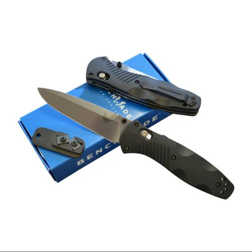 Benchmade 580 Barrage Assisted Opening Knife with FREE Benchmade Sharpener