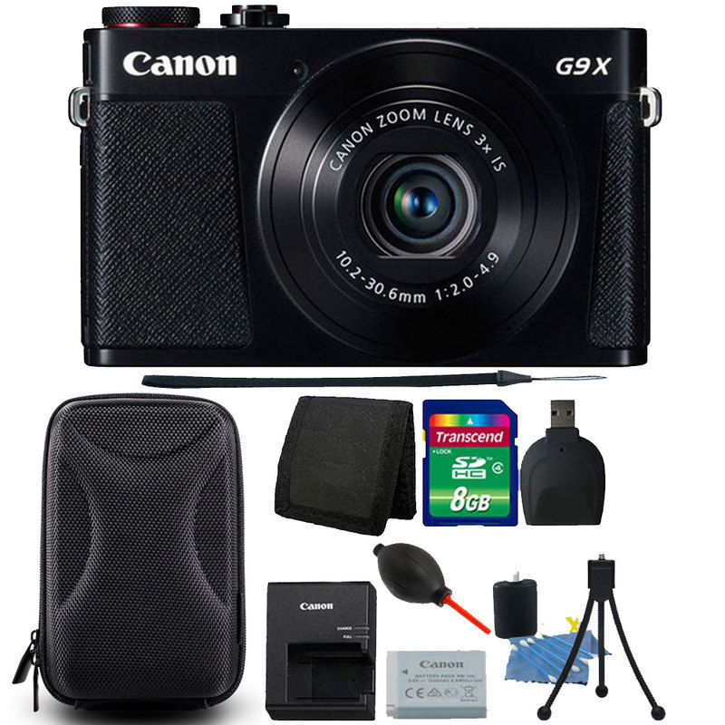 Canon Poweshot G9 X 20.1 MP CMOS 3X Optical Zoom Full HD ...
