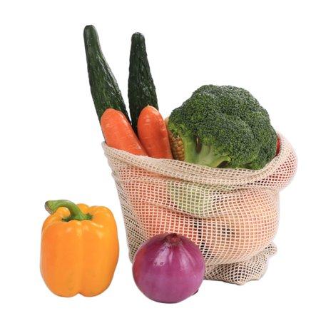 Reusable Mesh Produce Bag for Fruit And Vegetable String Net Bags Shopping Bags Household Grocery Vegetable Shopping Bag
