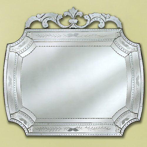 Medium Camela Venetian Wall Mirror - 42W x 52H in.