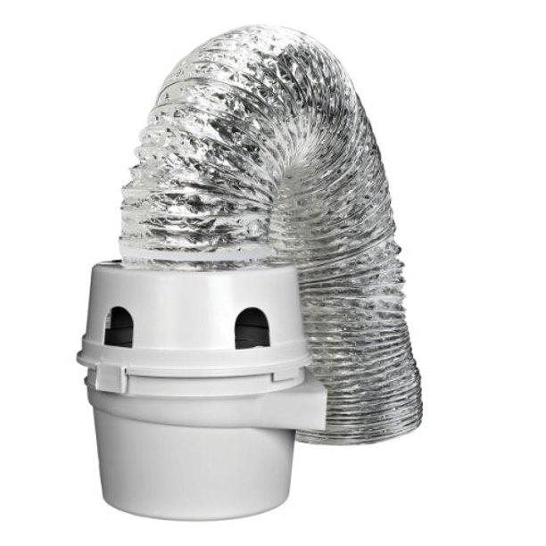 Dundas Jafine Tdidvkzw Proflex Indoor Dryer Vent Kit With 4 Inch By 5 Foot Proflex Duct Walmart Com Walmart Com