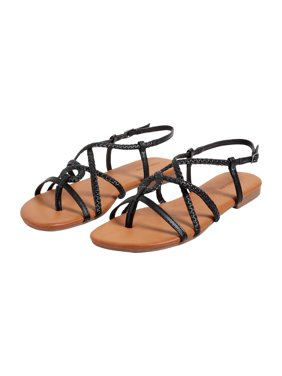maurices Braided Strappy Slingback Sandal - Women's Adalyn