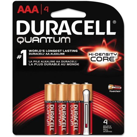 Quantum Instruments Battery Pack (4 Pack - Duracell Quantum Alkaline Batteries with Duralock Power Preserve Technology 4 ea)
