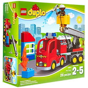 LEGO DUPLO Town Fire Truck 10592 Buildable Toy for 3-Year-Olds