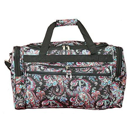 World Traveler 22-inch Travel Duffel Bag - Paisley