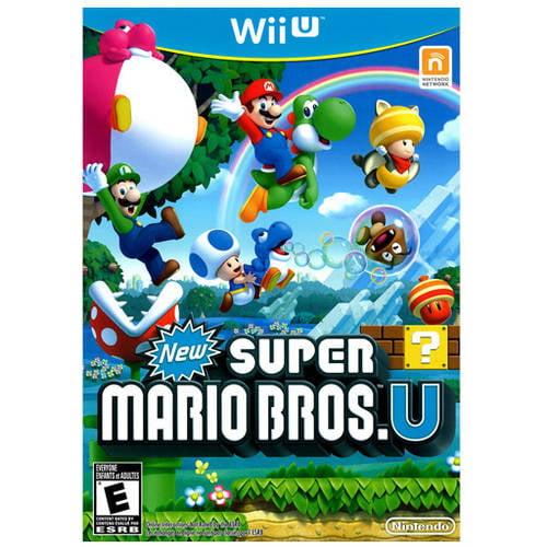 New Super Mario Bros. U (Wii U) - Pre-Owned
