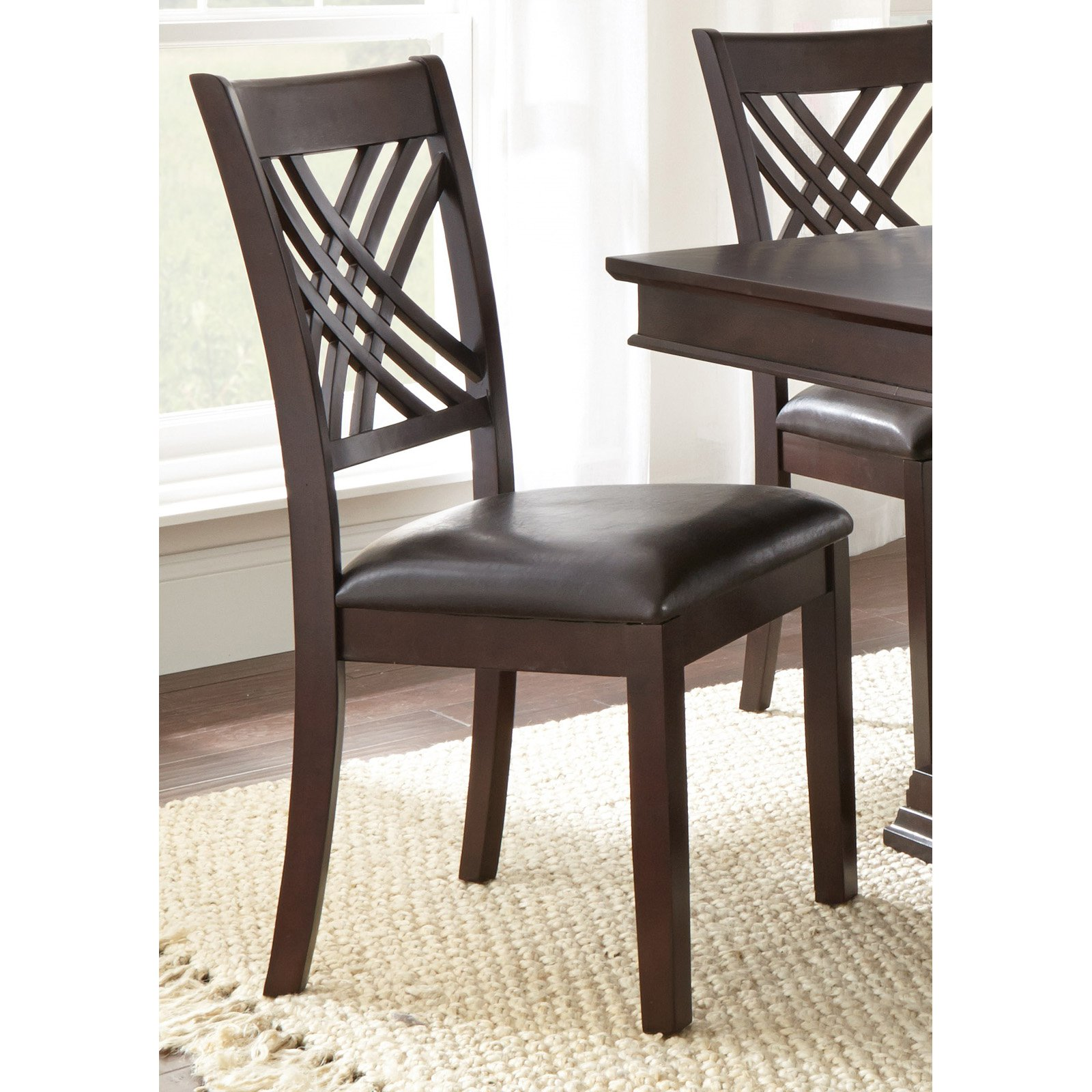 Steve Silver Adrian Side Chair Set of 2 by Steve Silver Co