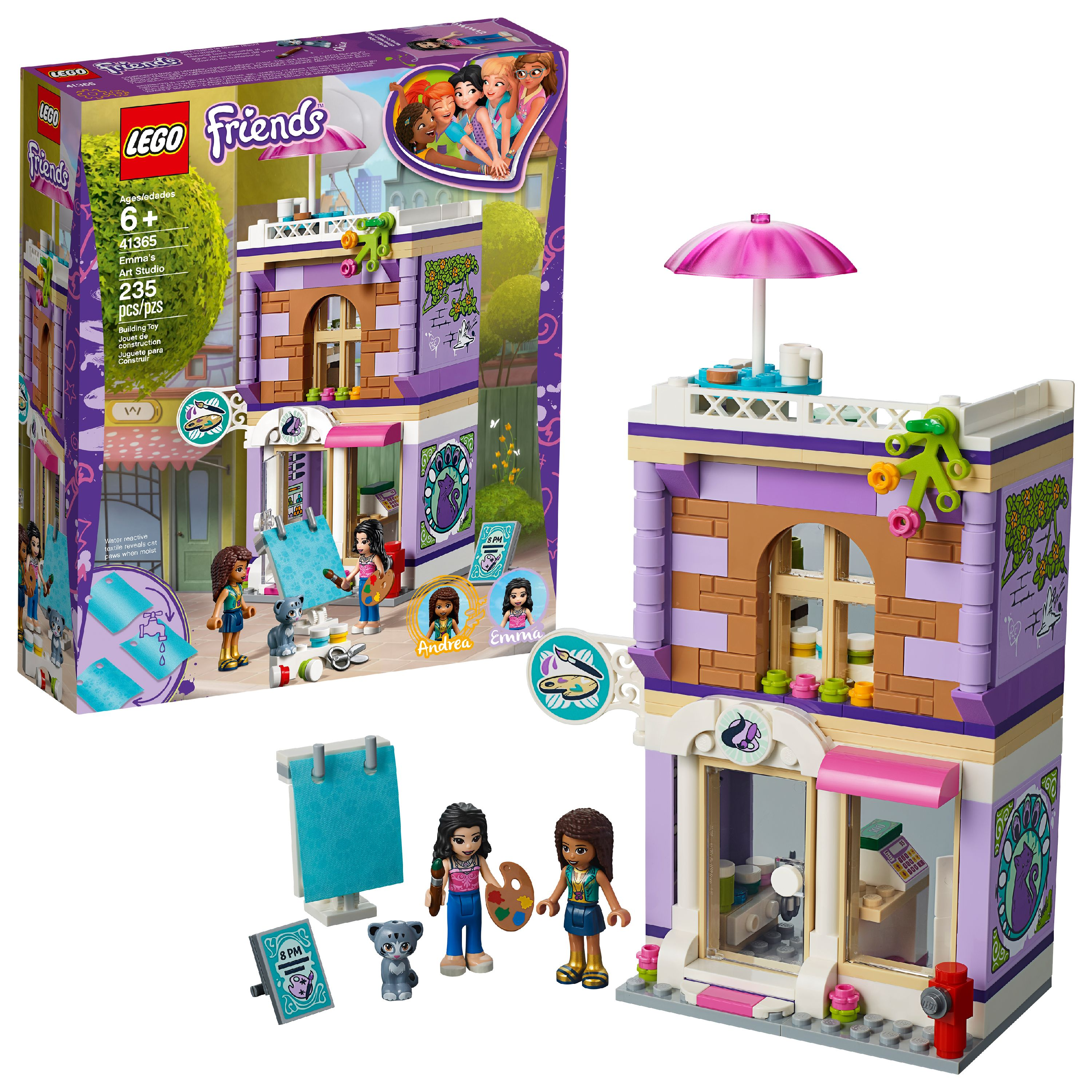 LEGO Friends Emma's Art Studio 41365 Building Set (235 Pieces)