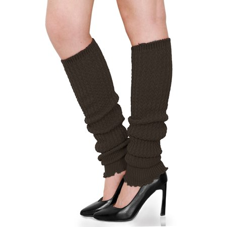 Womens Ribbed Design Toeless Over Knee Length Boot Cover Leg Warmers](Cheap Furry Leg Warmers)