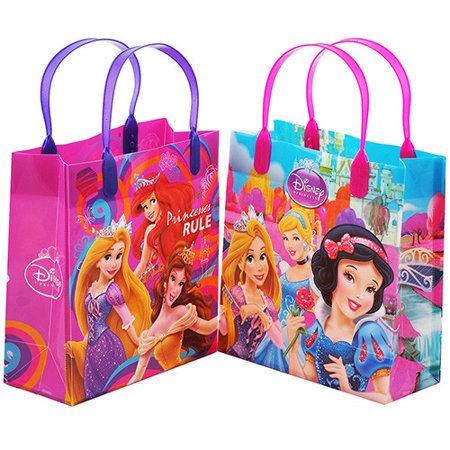 Princess 12 Authentic Licensed Party Favor Reusable Goodie Medium Gift Bags 8