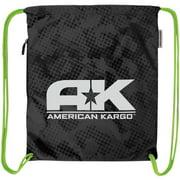 American Kargo Cinch Bag Black