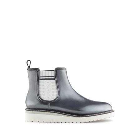 Cougar Women's Kensington Rain Boots in Silver Metallic - image 5 de 5