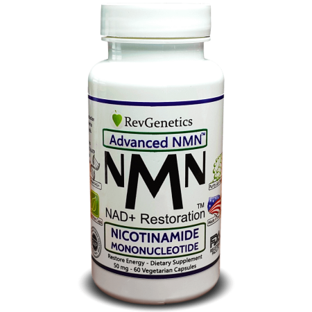 NMN Nicotinamide Mononucleotide Metabolic Repair - The Original NAD+  Booster with a 1 Step Precursor - 60 Capsules - The Original NAD Restorer  From