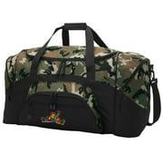 Peace Frogs CAMO Duffel Bag
