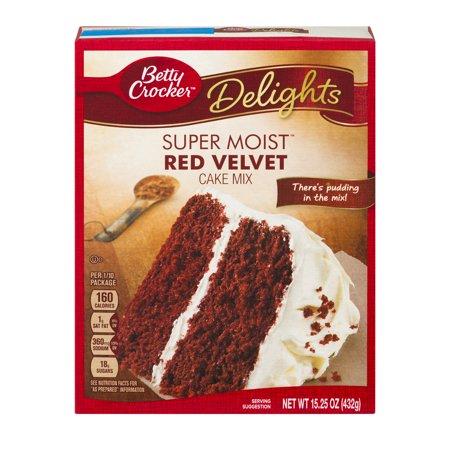 Enhance Red Velvet Box Cake Mix
