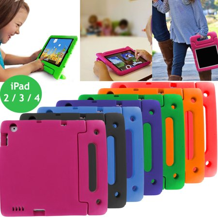iPad 9.7 2nd 3rd 4th Gen Kids Case, KIQ Child-Friendly Fun Kiddie Tablet Cover EVA Foam For Apple iPad 2, 3, 4, 9.7-inch