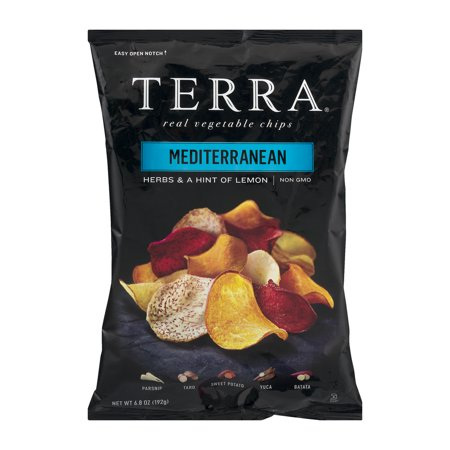 Terra Real Vegetable Chips Mediterranean  6 8 Oz