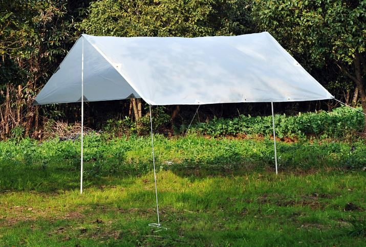 Outsunny Waterproof Tent Tarp Quick Up Lightweight Survival Shelter by