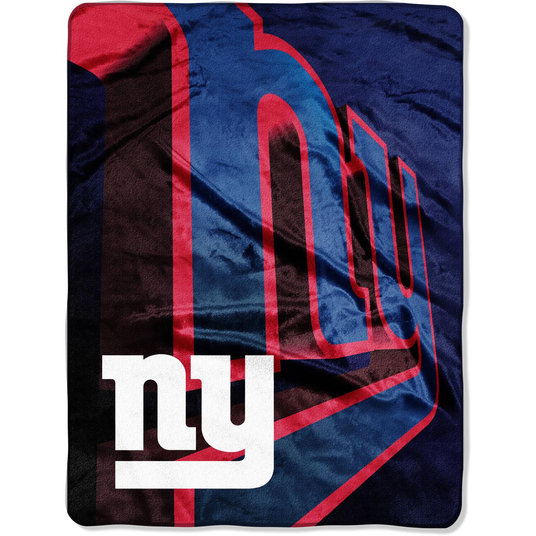 "NFL New York Giants 60"" x 80"" Oversized Micro Raschel Throw"