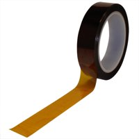 T960291 Amber 1/8 Inch x 36 yds. 1 Mil Kapton Tape Made In USA CASE OF 1