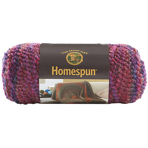 Lion Brand Homespun Yarn, Available in Mutiple Colors