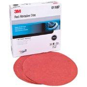 3m Marine Red Hookit Disc 6 P800A 50/Box 1187