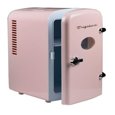Frigidaire Portable Retro 6 Can Mini Fridge Efmis129 Pink Walmart Com Walmart Com