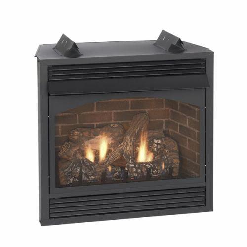 "Vail 36"" Thermostat Vent-Free Premium Fireplace - LP"