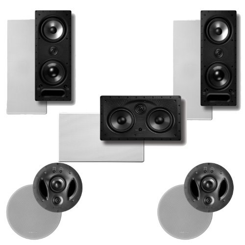Polk Audio 900-LS In-Ceiling   In-Wall Speaker System Package by Polk Audio