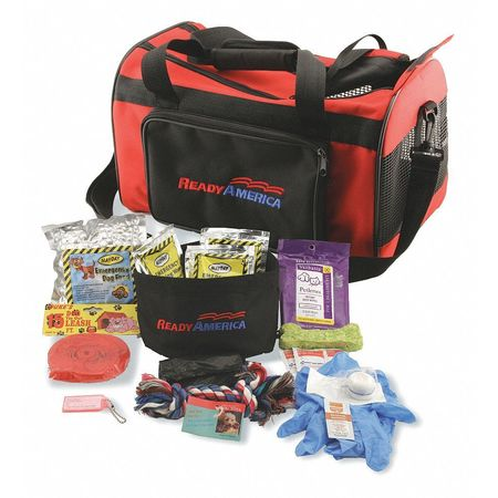 READY AMERICA 77150 Dog Emergency Kit,1 Dog Srvd G1617537