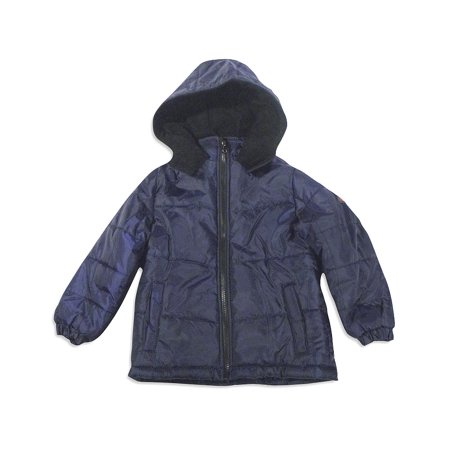 iXtreme - Little Boys Hooded Winter Jacket Fits Sizes 4 thru 7 - 8 Great Styles - 30 Day Guarantee - FREE SHIPPING - Boy Leather Jacket