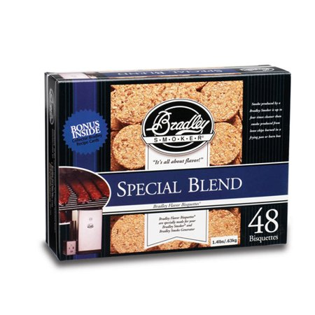Blend Bisquettes (Bradley Technologies Smoker Bisquettes )
