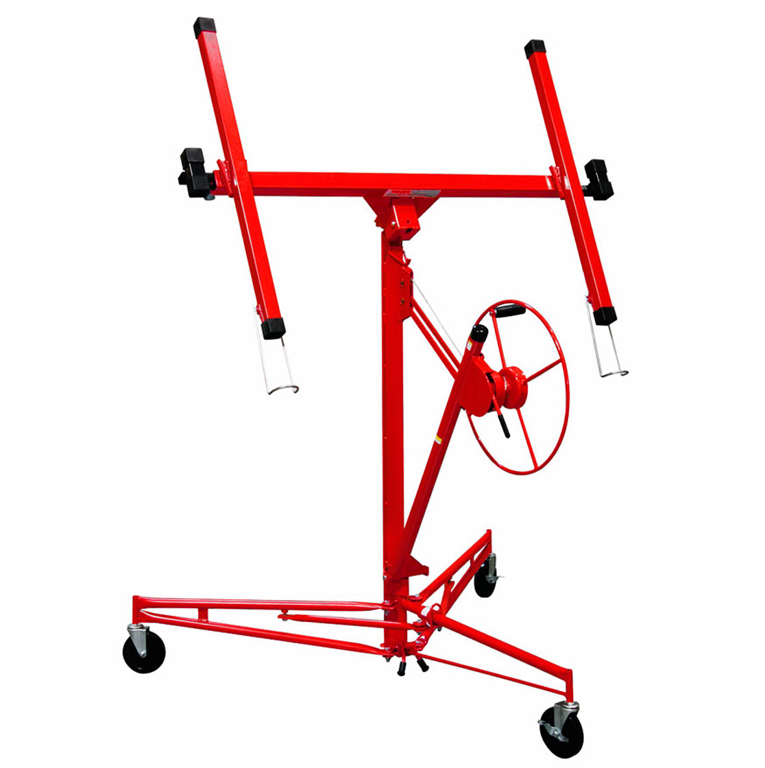 Troy DPH11 11' Drywall Rolling Lifter Panel Hoist Jack Lo...